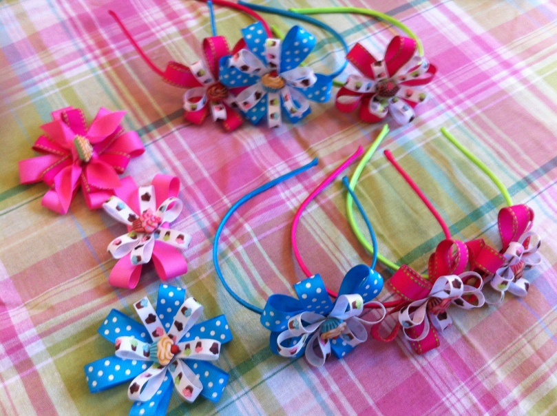 Handmade HeadBands and HairClips