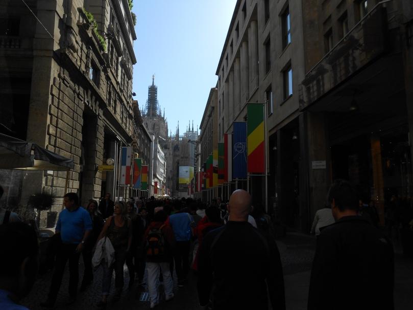 A good shopping street