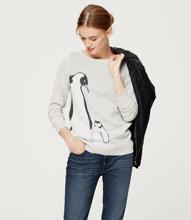 Loft Penguin Sweater