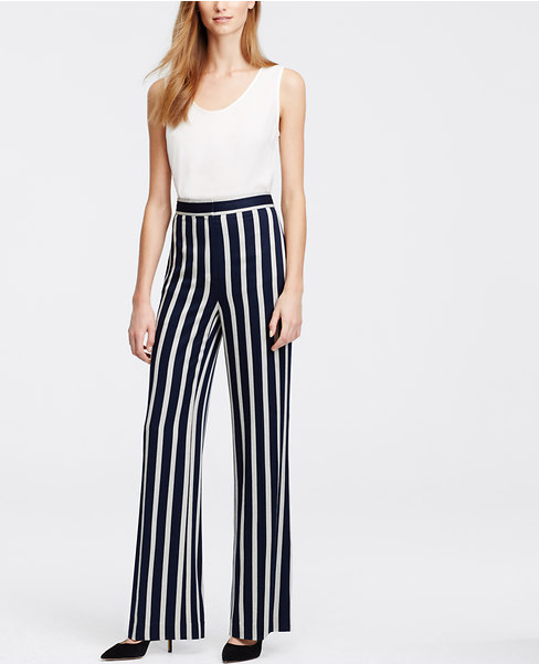 Sadie Dishes- Ann Taylor Stripe Pants
