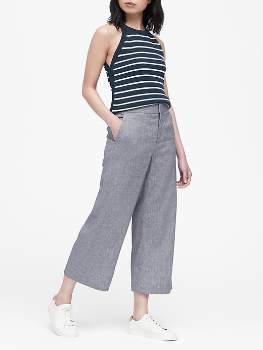 Banana Republic Wide Leg Crops